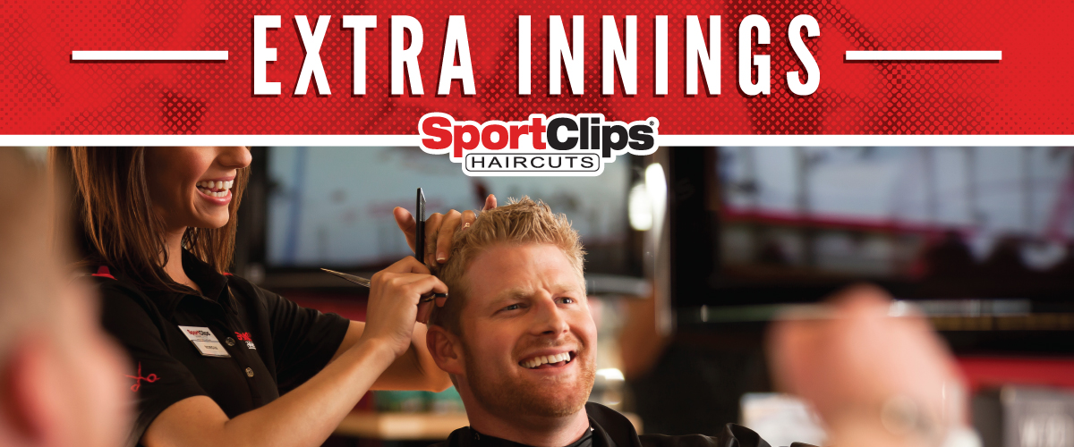 The Sport Clips Haircuts of Tupelo  Extra Innings Offerings