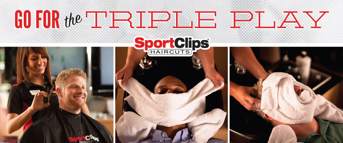 The Sport Clips Haircuts of Tupelo  Triple Play